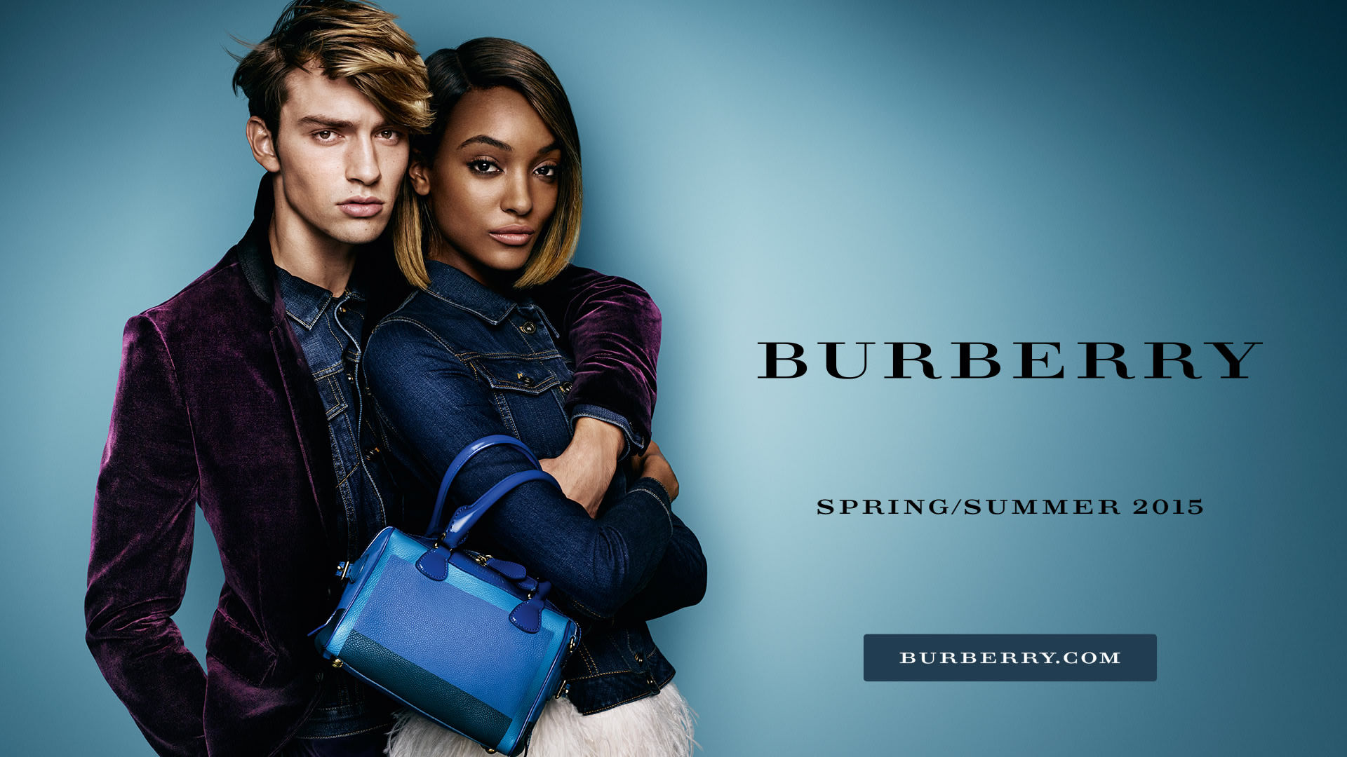 Burberry main campaign tablet ad